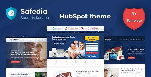 Safedia- Home Security HubSpot Theme - Corporate HubSpot CMS Hub
