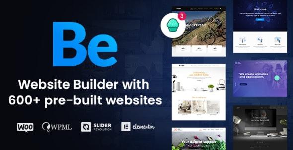 Betheme | Multipurpose Website Builder for WordPress - Business Corporate