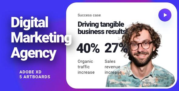 DMA - Digital Marketing Agency Template - Marketing Corporate