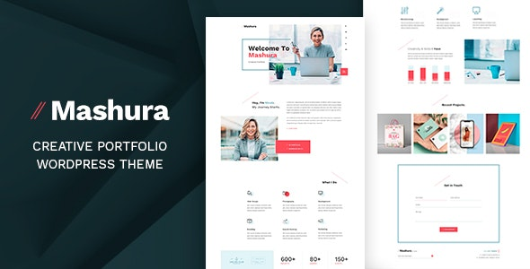 Mashura - Personal WordPress Theme - Business Corporate