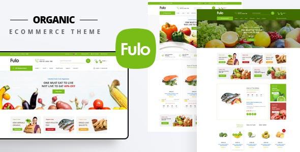 Fulo - Organic & Food Responsive Prestashop Theme