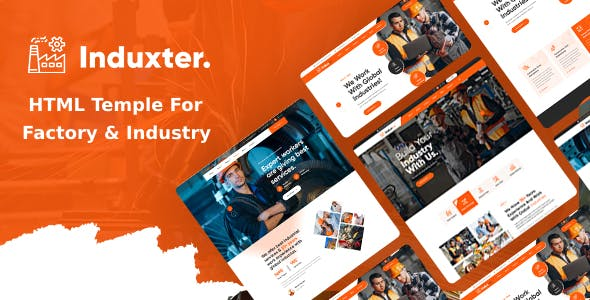 Induxter - Industry And Factory HTML Template
