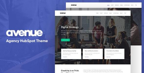 Avenue - Creative Agency HubSpot Theme - Corporate HubSpot CMS