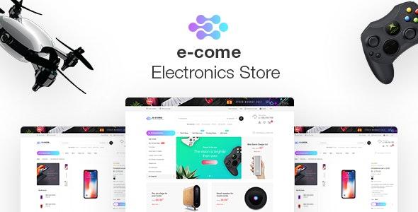 Ecome -  Electronics Store WooCommerce Theme - WooCommerce eCommerce