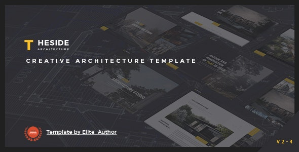TheSide - Creative  Responsive Architecture  Template - Business Corporate