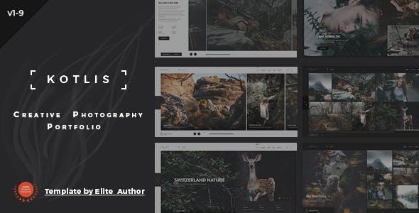 Kotlis - Responsive  Photography Portfolio