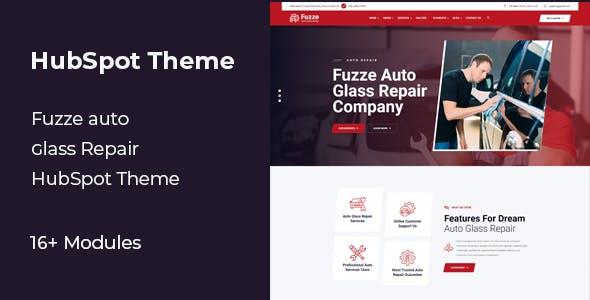 Fuzze - Car Wash HubSpot Theme
