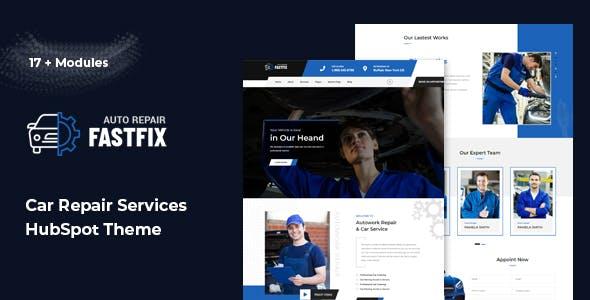 Fastfix - Auto Repair HubSpot Theme