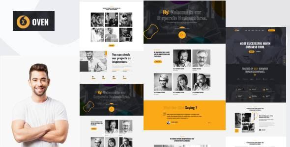 Xoven - Creative Business Service HubSpot Theme - Corporate HubSpot CMS Hub
