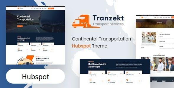Tranzekt - Transport and logistics HubSpot Theme