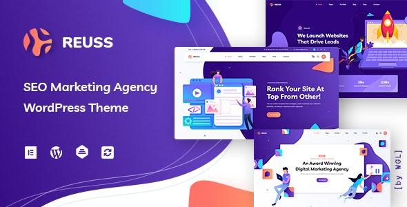 Reuss - SEO Marketing Agency WordPress Theme - Marketing Corporate