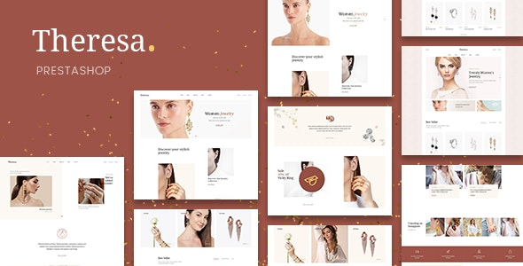 Theresa - Jewelry and Diamond PrestaShop 1.7 Theme - PrestaShop eCommerce