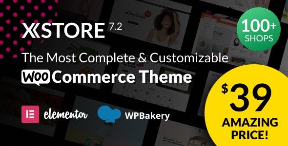 XStore v7.2.11 – Responsive Multi-Purpose WooCommerce WordPress Theme nulled