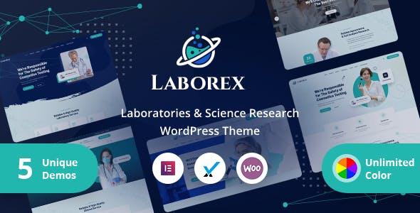 Laborex – Laboratory & Research WordPress Theme