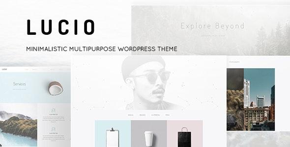 Lucio - Minimal Portfolio and Agency WordPress Theme - Portfolio Creative