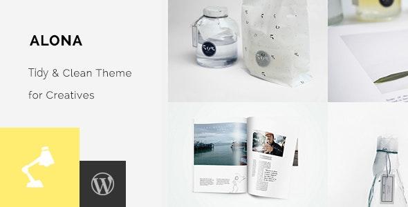 Alona - Tidy & Clean Portfolio - Portfolio Creative