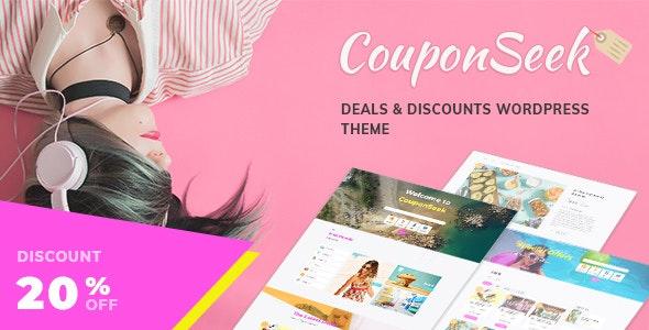 CouponSeek - Deals & Discounts WordPress Theme - Directory & Listings Corporate