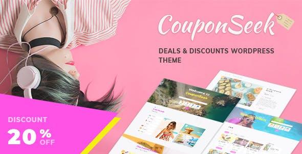 CouponSeek - Deals & Discounts WordPress Theme