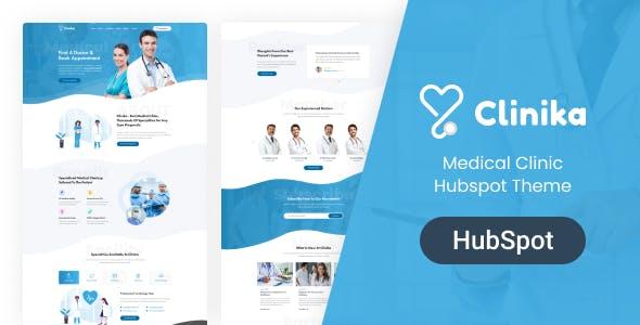 Clinika - Medical Clinic Hubspot Theme