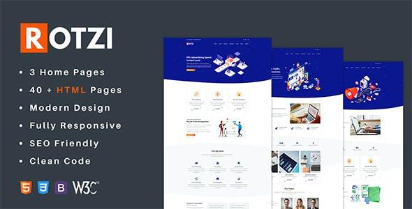Rotzi - SEO and Digital Marketing HTML Template