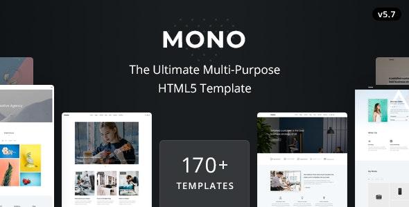 Mono - Multi-Purpose HTML5 Template - Business Corporate