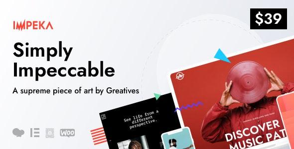 Impeka - Creative Multi-Purpose WordPress Theme - Creative WordPress