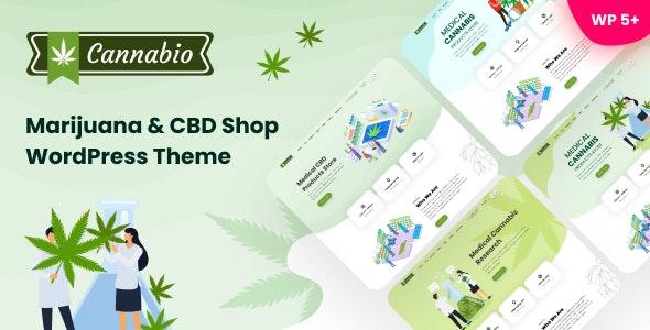Cannabio - Marijuana and Cannabis WordPress Theme - Health & Beauty Retail