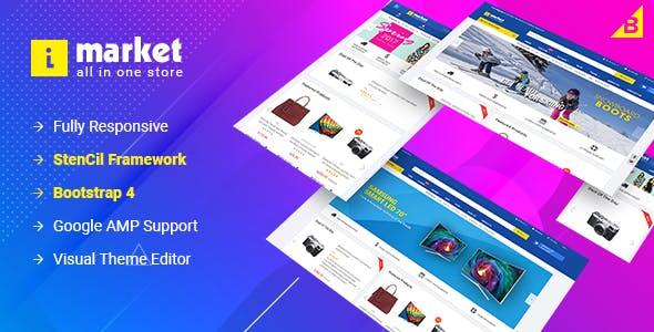 iMarket - Multipurpose Stencil Responsive BigCommerce Theme & Google AMP Ready