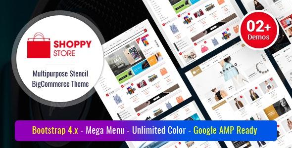 ShoppyStore - Multipurpose Stencil Responsive BigCommerce Theme & Google AMP Ready - BigCommerce eCommerce