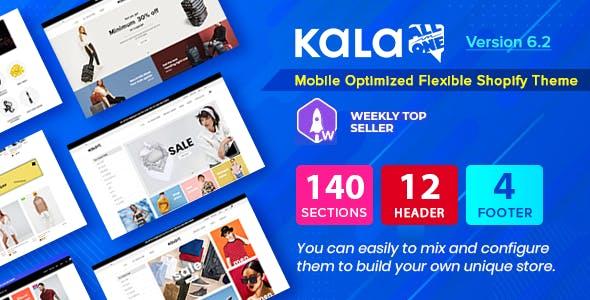 Kala | Customizable Shopify Theme - Flexible Sections Builder Mobile Optimized