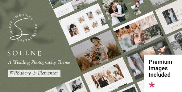Solene - Wedding Photography Theme - Photography Creative