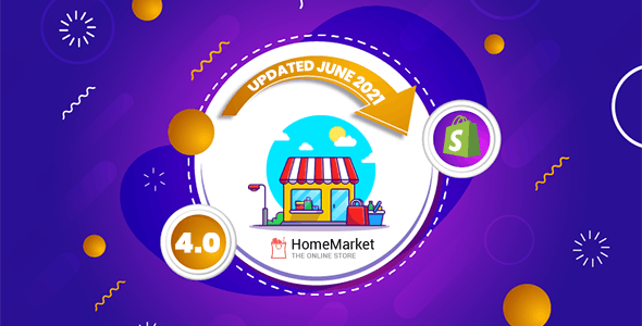 Home Market - Flexible Shopify Theme (Sections Ready)