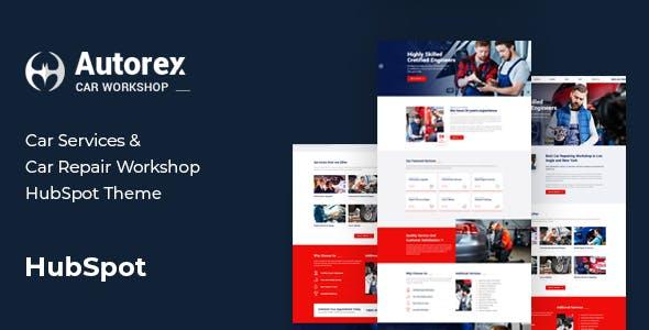Autorex - Car Service & Workshop HubSpot Theme