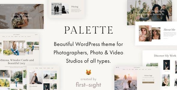 Palette: Photography Portfolio Multipurpose WordPress Theme