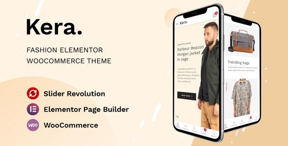 Kera - Fashion Elementor WooCommerce Theme - WooCommerce eCommerce