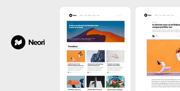 Neori - News and Magazine WordPress Theme