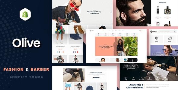 Olive - Fashion & Barber Store Shopify Theme - Fashion Shopify