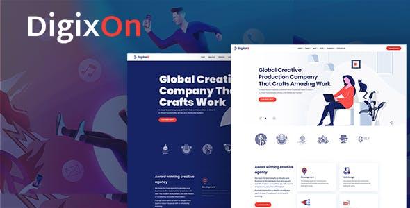Digixon - Digital Marketing Strategy Hubspot Theme
