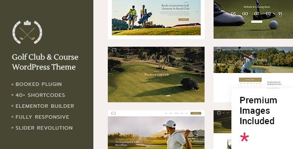 FairwayGreen - Golf Club - Entertainment WordPress