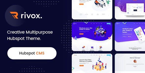 Rivox - Creative Multi-Purpose HubSpot Theme
