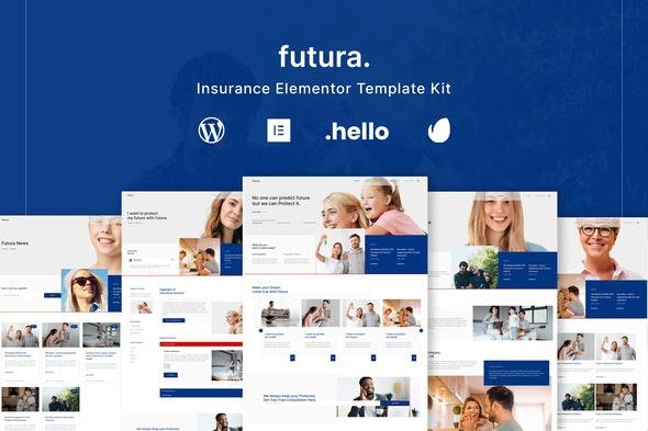 Futura - Insurance Elementor Template Kit - Business & Services Elementor