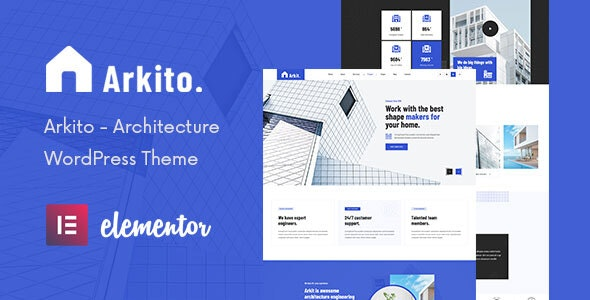 Arkito - Architecture WordPress Theme - Business Corporate