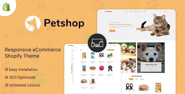 Petshop - Multipurpose E-commerce Shopify Template
