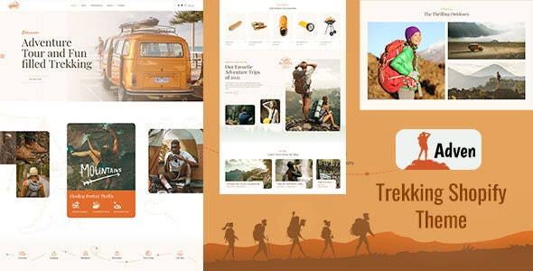 Adven - Hiking, Camping & Trekking Shopify Theme - Entertainment Shopify