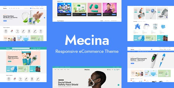 Mecina - Medical & Healthcare OpenCart Theme