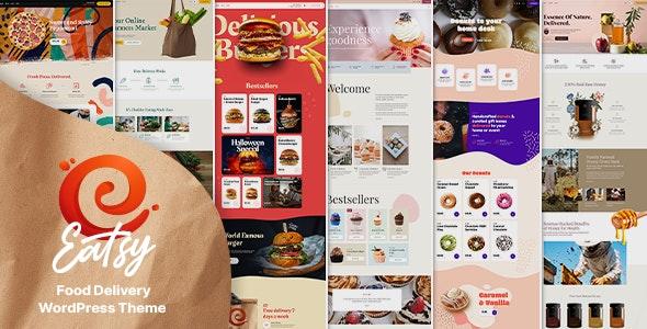 Eatsy - Food Delivery WordPress Theme - Food Retail