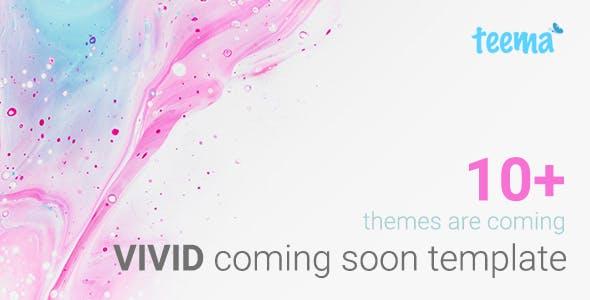 VIVID - Responsive Multipurpose Coming Soon Template