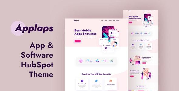 Applaps – App Software HubSpot theme - Miscellaneous HubSpot CMS Hub
