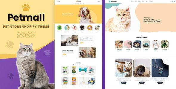 Petmall - Pet Shop, Animal Store Shopify Theme - Shopping Shopify