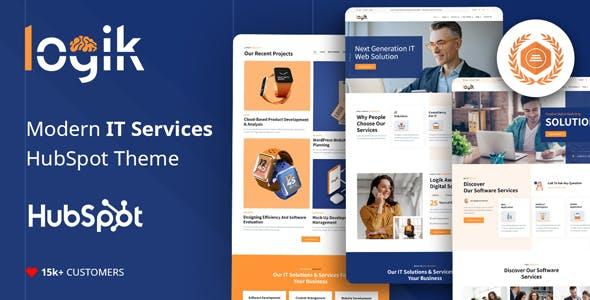 Logik | IT Solutions & Technology HubSpot Theme